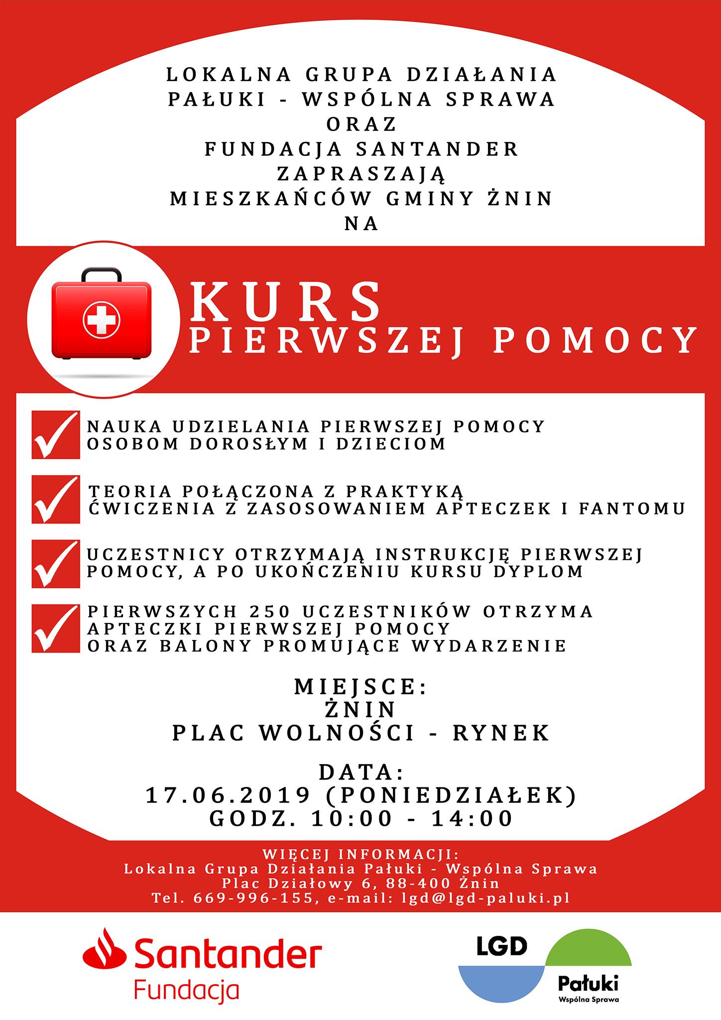Pierwsza Pomoc LGD Pałuki