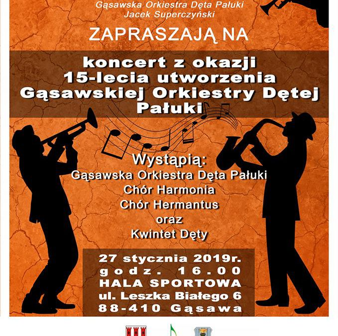 15-lecie utworzenia Gąsawskiej Orkiestry Dętej Pałuki