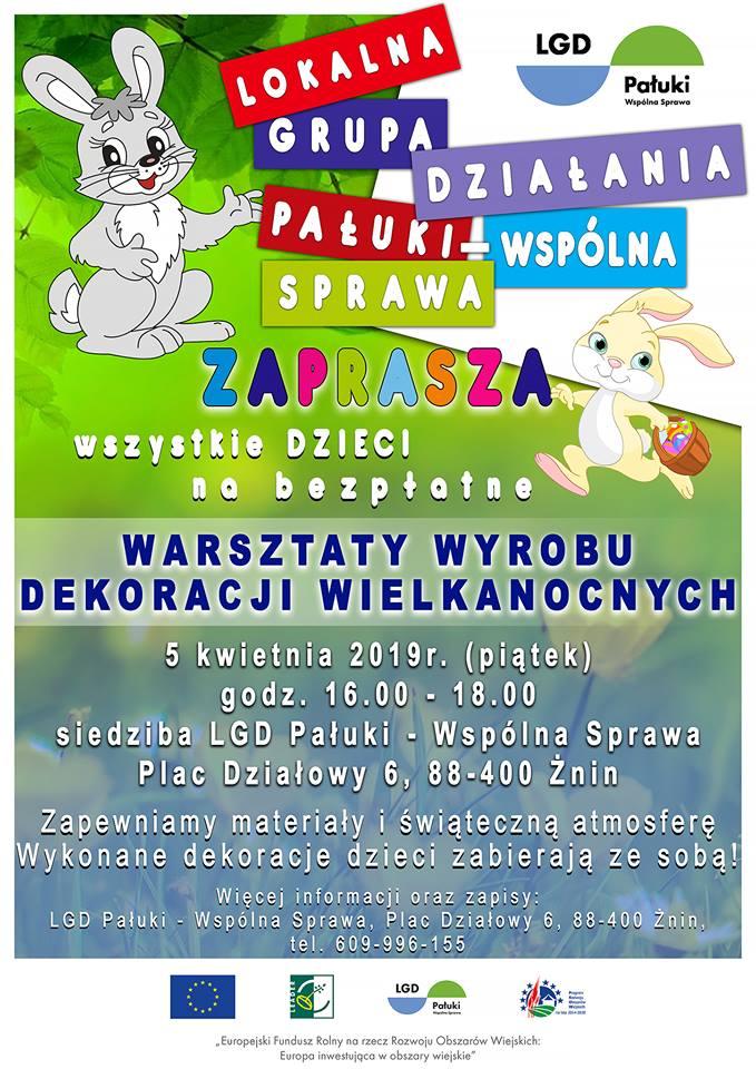 Warsztaty Wielkanocne z LGD Pałuki - Wspólna Sprawa