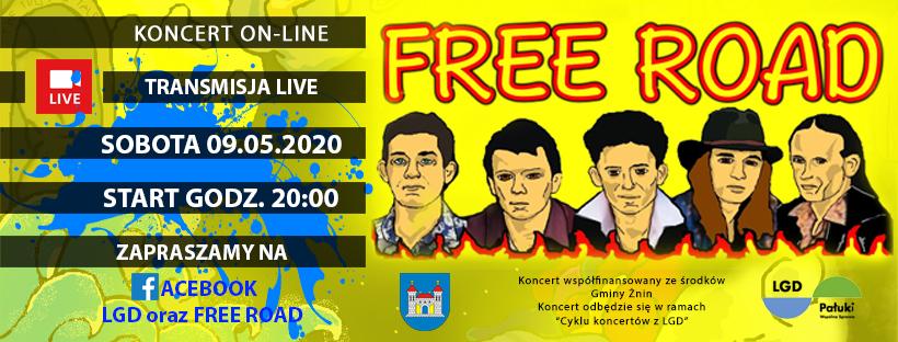 Cykl koncertów z LGD – Free Road