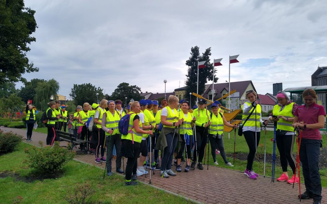 Rajd Nordic Walking za nami