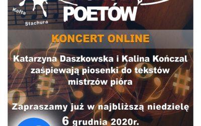 Wieczór wśród poetów – koncert online