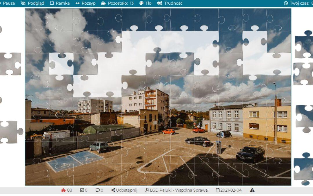 Układaj puzzle z LGD