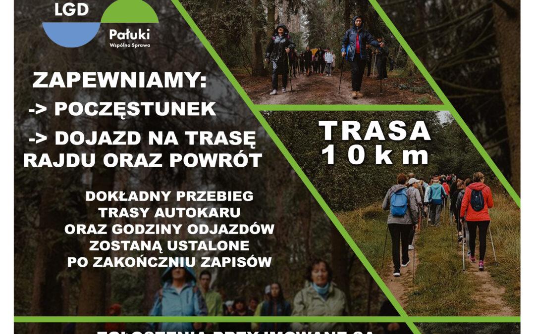 Rozpoczynamy zapisy na Rajd Nordic Walking w Gminie Gąsawa
